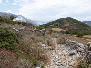 View from a hike on Amorgos