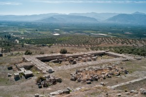 Temple of the Argive Hera, overlooking the Argolis Valley