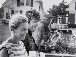 Polly and Hilary in Provincetown, 1970. photo by Sara Ballard